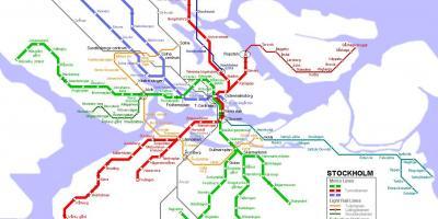 Sl Karta Stockholm Uppsala.Stockholm Map Maps Stockholm Sodermanland Und Uppland Schweden