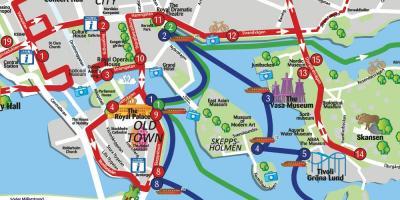 Stockholm Map Maps Stockholm Sodermanland Und Uppland Schweden